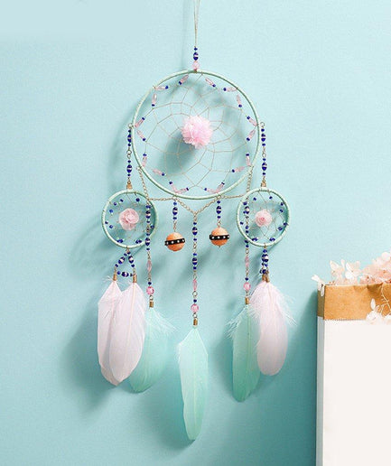 Handmade dreamcatcher wall hanging decoration