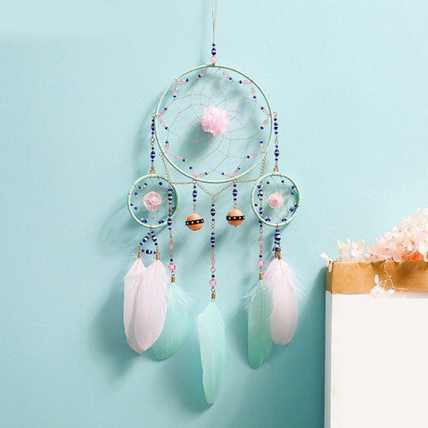 Handgemachte Dreamcatcher Wanddekoration [The Best Affordable Online Ethnic Shop] - Unusual Trendy Geschenke für Freundin