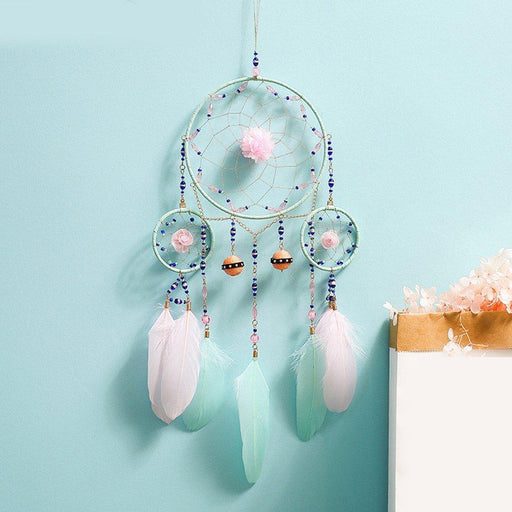 Handmade dreamcatcher wall hanging decoration [The Best Affordable Online Ethnic Shop] - Unusual Trendy