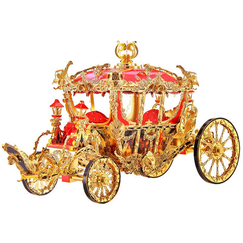 The Princess Carriage 3D metal puzzle
