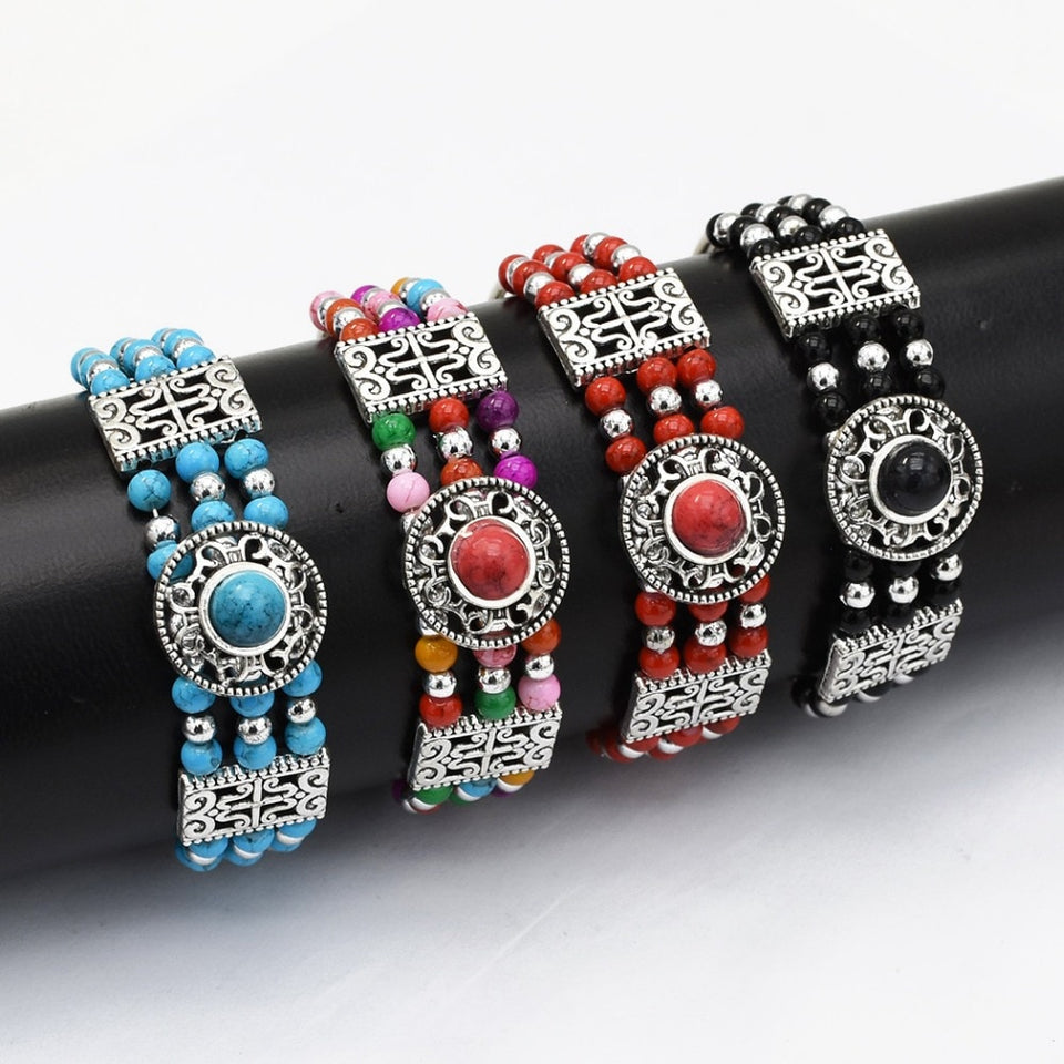 Bohemian Beaded Bracelet Ethnic style [The Best Affordable Online Ethnic Shop] - Unusual Trendy