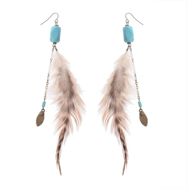 Native american dreamcatcher earrings