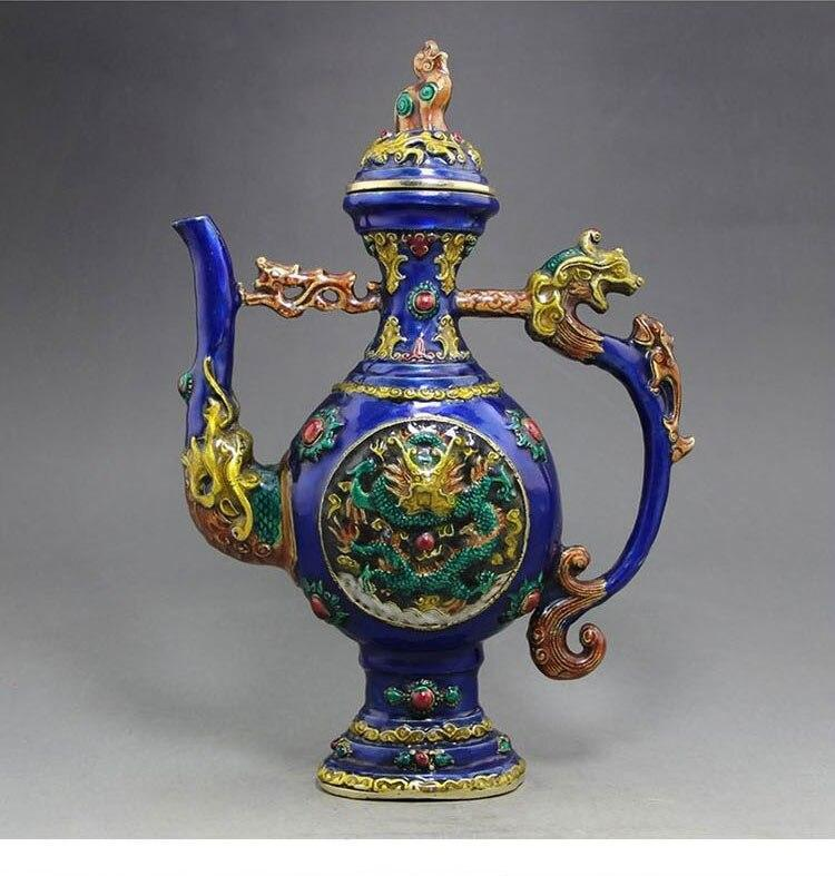 Ancient Chinese cloisonne [The Best Affordable Online Ethnic Shop] - Unusual Trendy