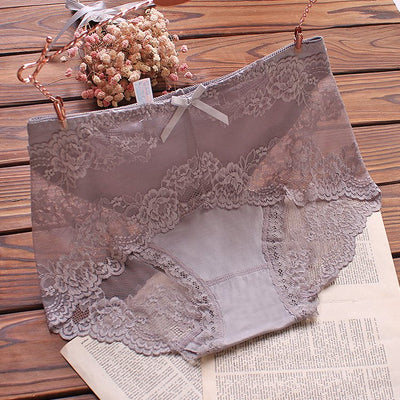 High Waist Sexy Lace Breathable Hip Lifting Panties (Buy 2 Get 3rd at $6.45 Buy 5 Get 1 for FREE)