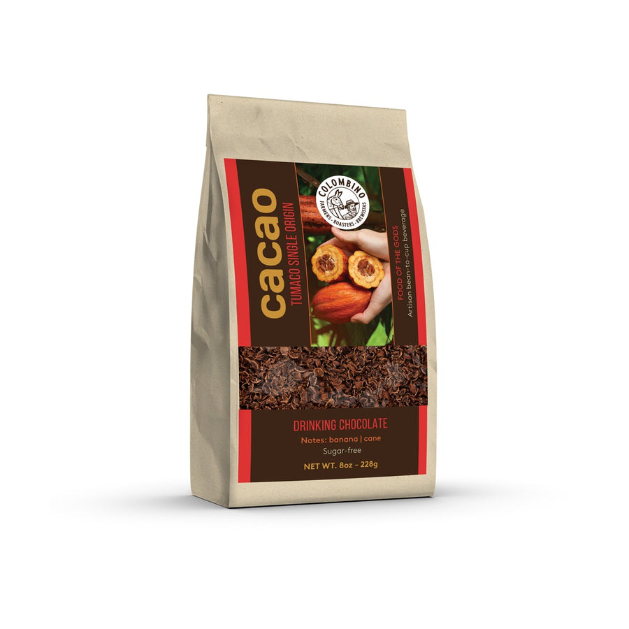 Ceremony Cacao | Drinking Chocolate 12oz. - Colombino | farmers • roasters • brewistas |