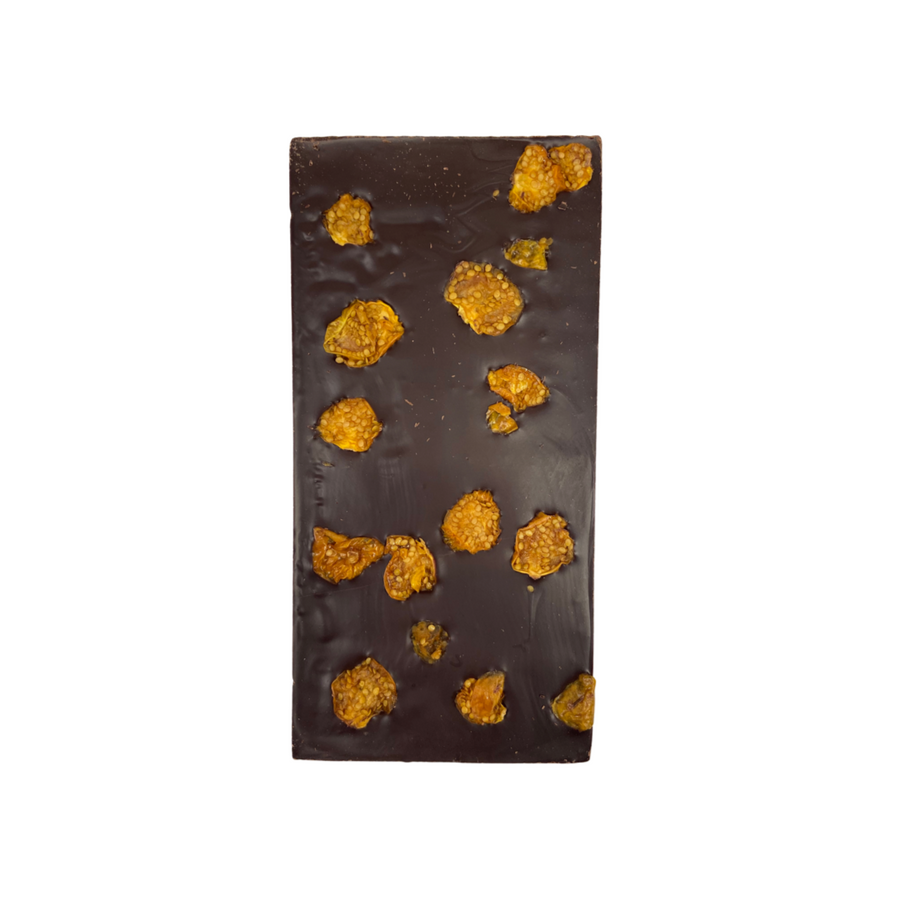 golden goose berry cacao chocolate bar
