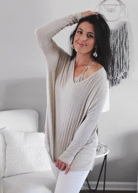 The Sweetest Thing Long Sleeve Tunic