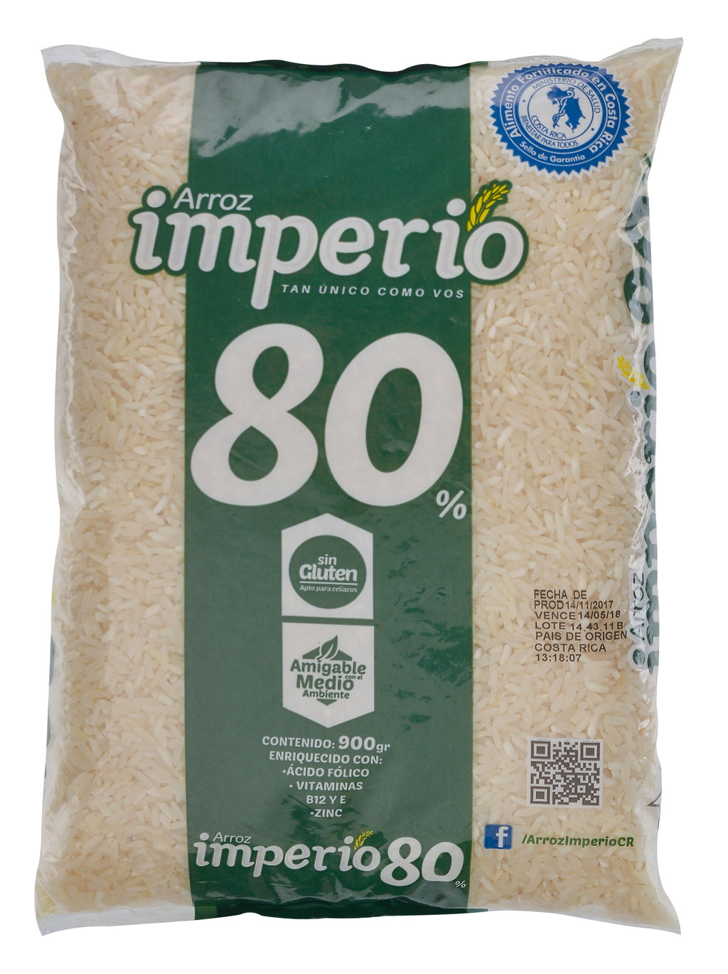 ARROZ IMPERIO 80% GRANO ENTERO