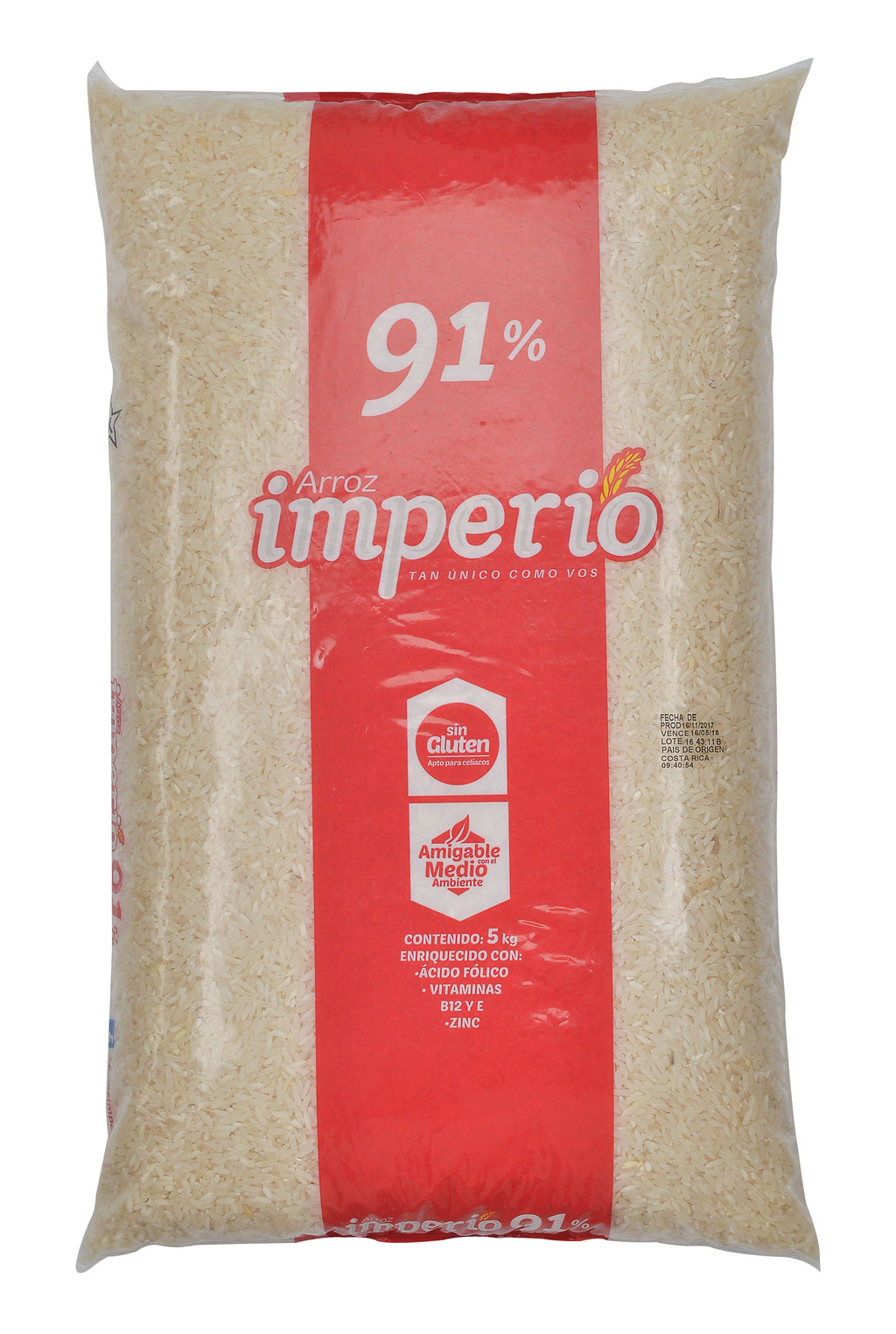 ARROZ IMPERIO 91% GRANO ENTERO