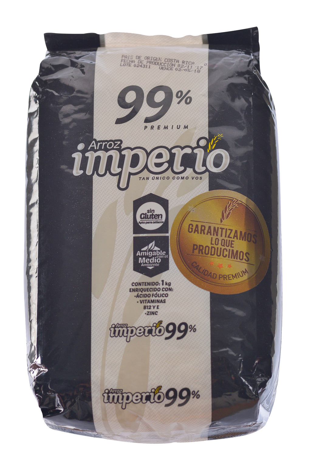 ARROZ IMPERIO 99% GRANO ENTERO