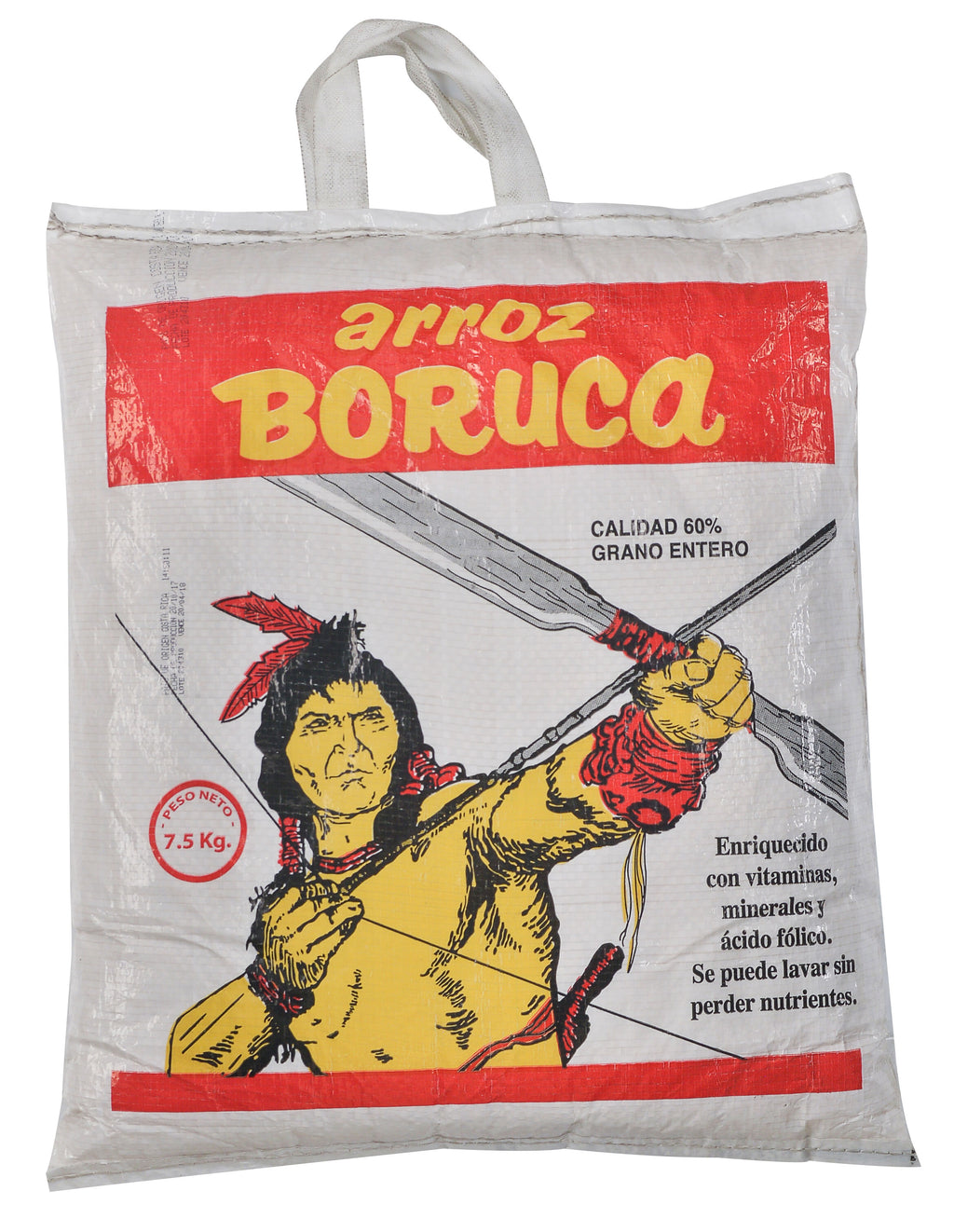 ARROZ BORUCA 60% GRANO ENTERO