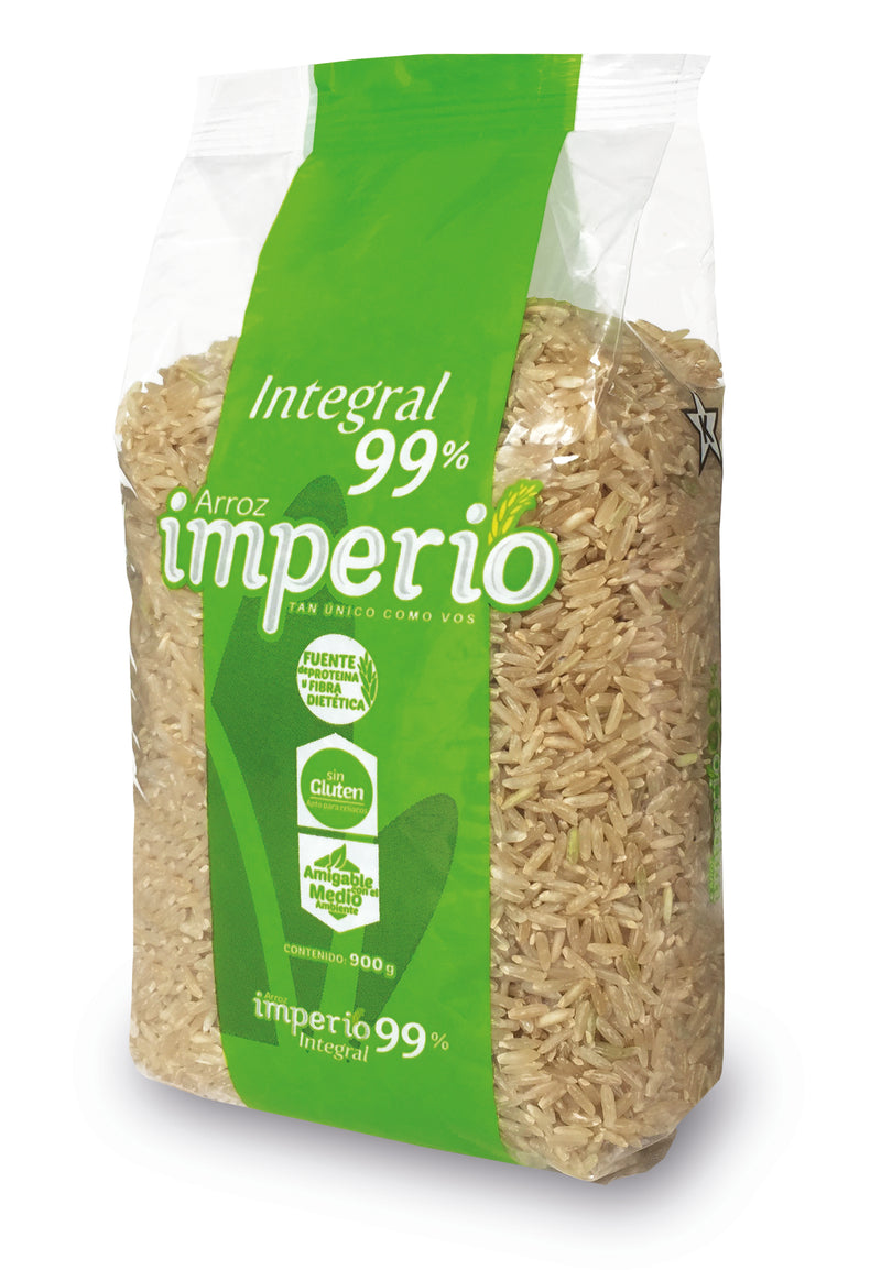 ARROZ IMPERIO INTEGRAL 99% GRANO ENTERO - 900 gramos
