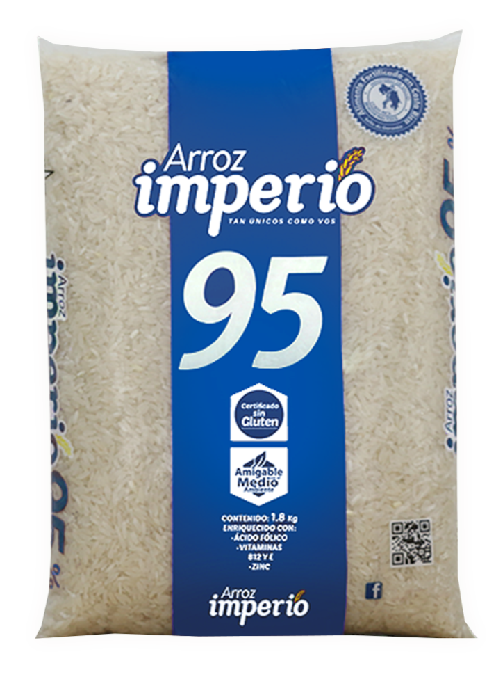 ARROZ IMPERIO 95% GRANO ENTERO