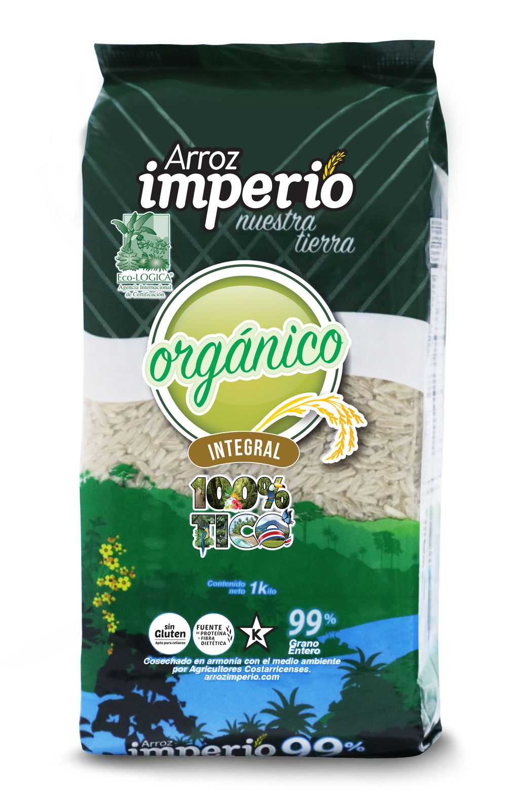 ARROZ IMPERIO ORGÁNICO INTEGRAL 99% GRANO ENTERO
