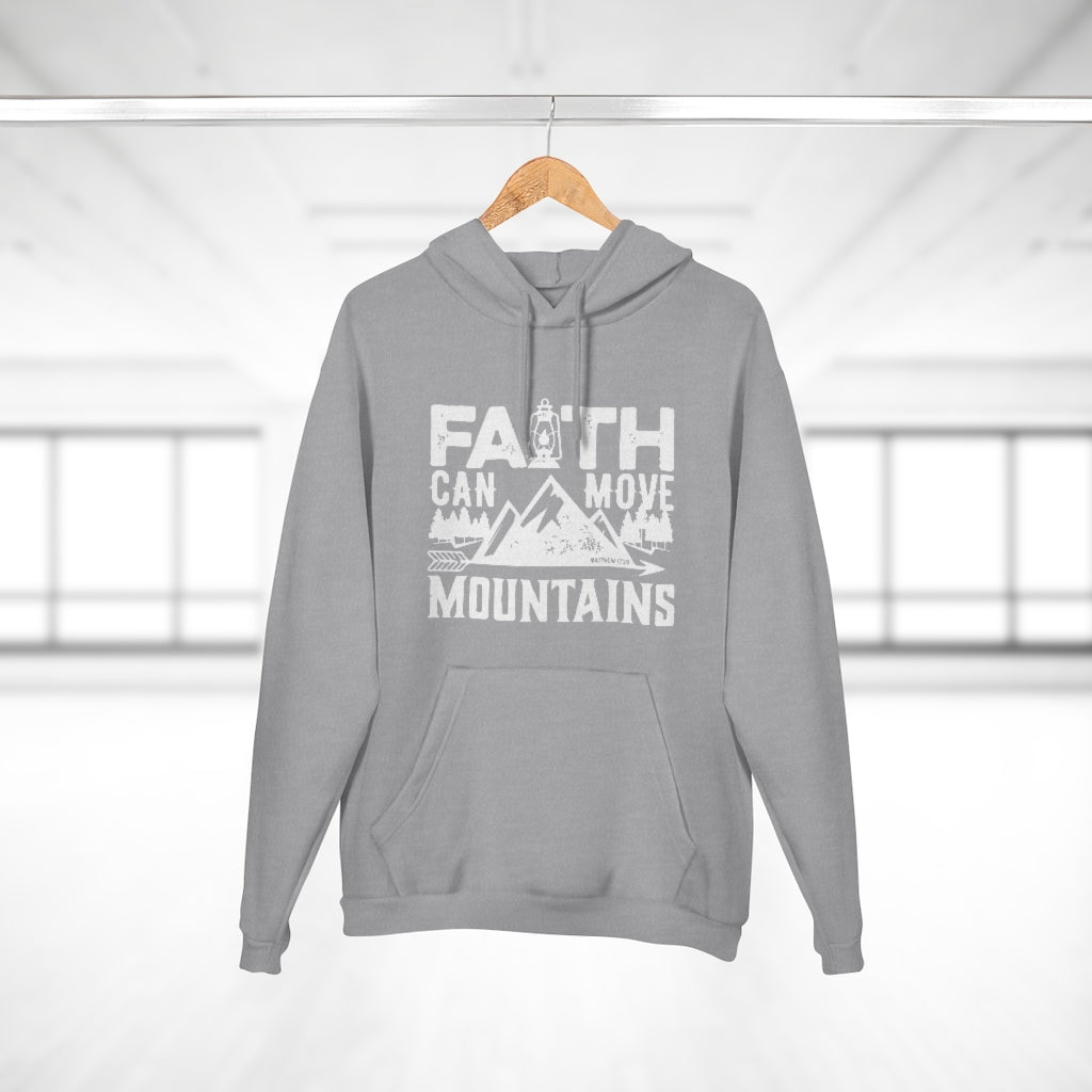 Christian Unisex Hoodie - Faith Can Move Mountains