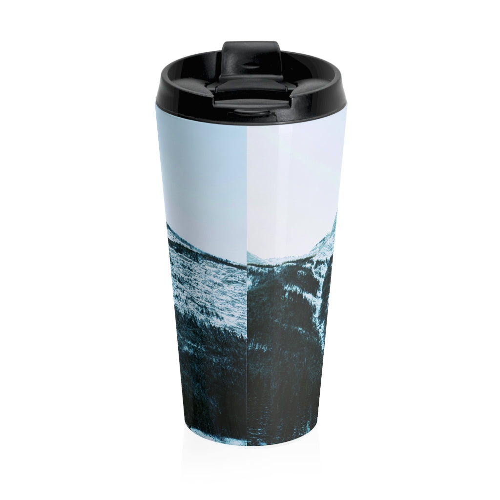 Christian Travel Mug 15 0z (Psalm 121:2, My Help Comes from the Lord)