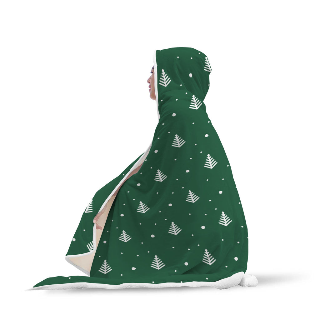 Christmas Hooded Blanket (Design# SAC02)