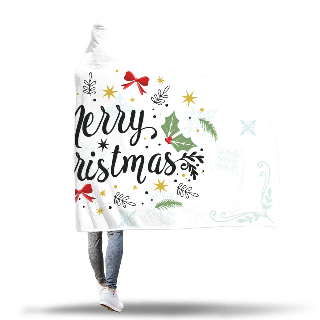 Christmas Hooded Blanket (Design# SAC05)
