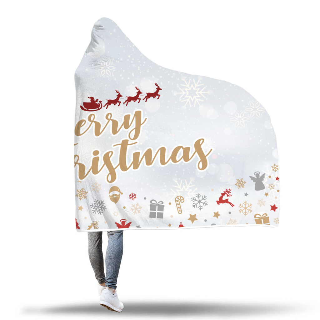 Christmas Hooded Blanket (Design# SAC10)