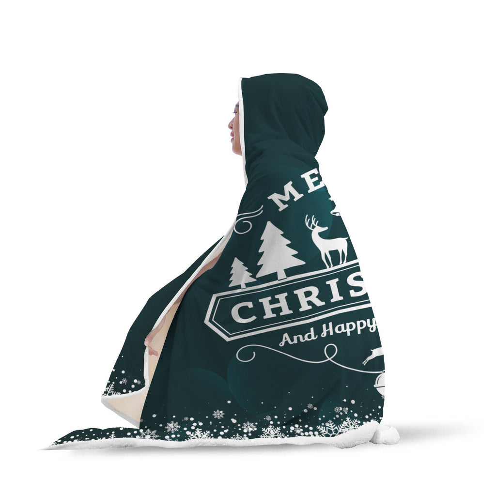 Christmas Hooded Blanket (Design# SAC11)