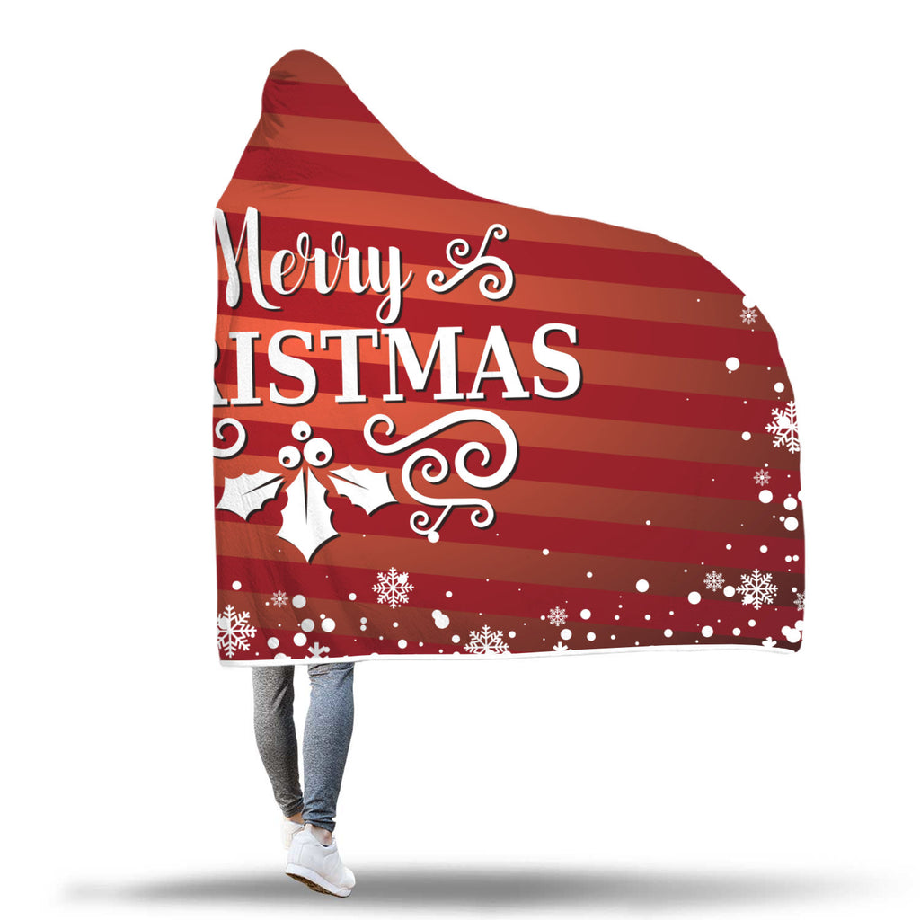 Christmas Hooded Blanket (Design# SAC12)