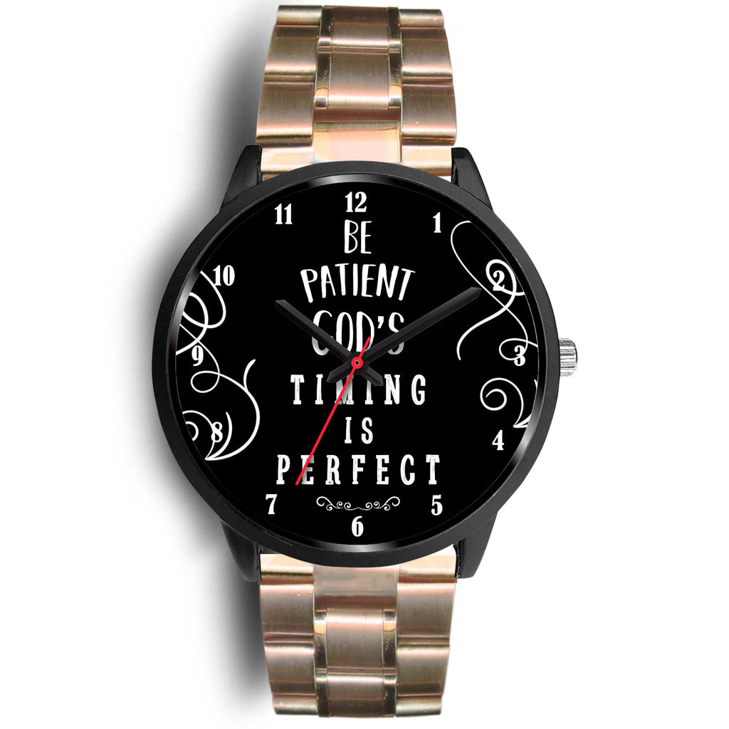 Christian Black Watch, God's Timing Is Perfect