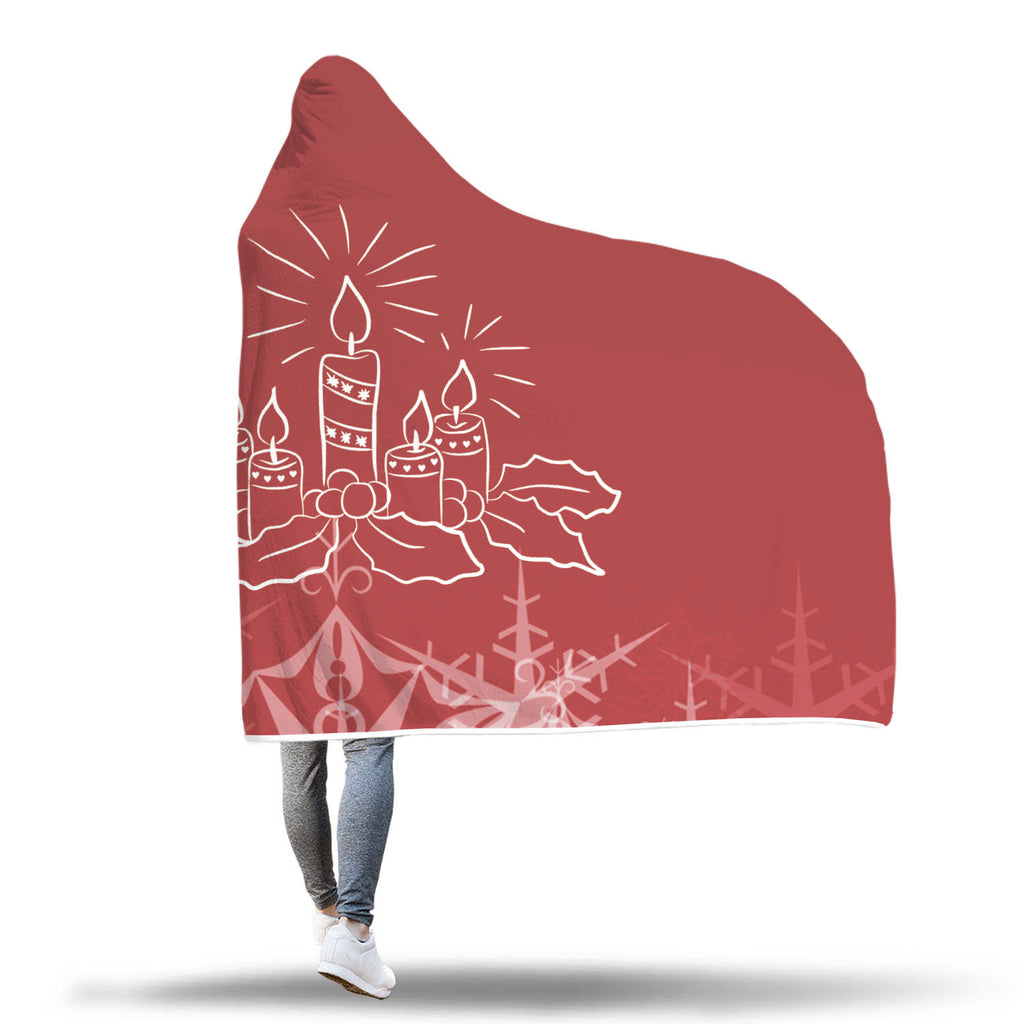 Christmas Hooded Blanket (Design# SAC15)