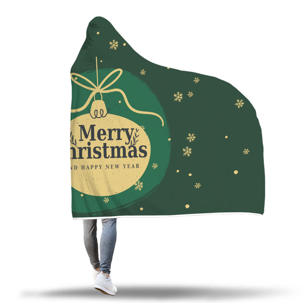 Christmas Hooded Blanket (Design# SAC19)