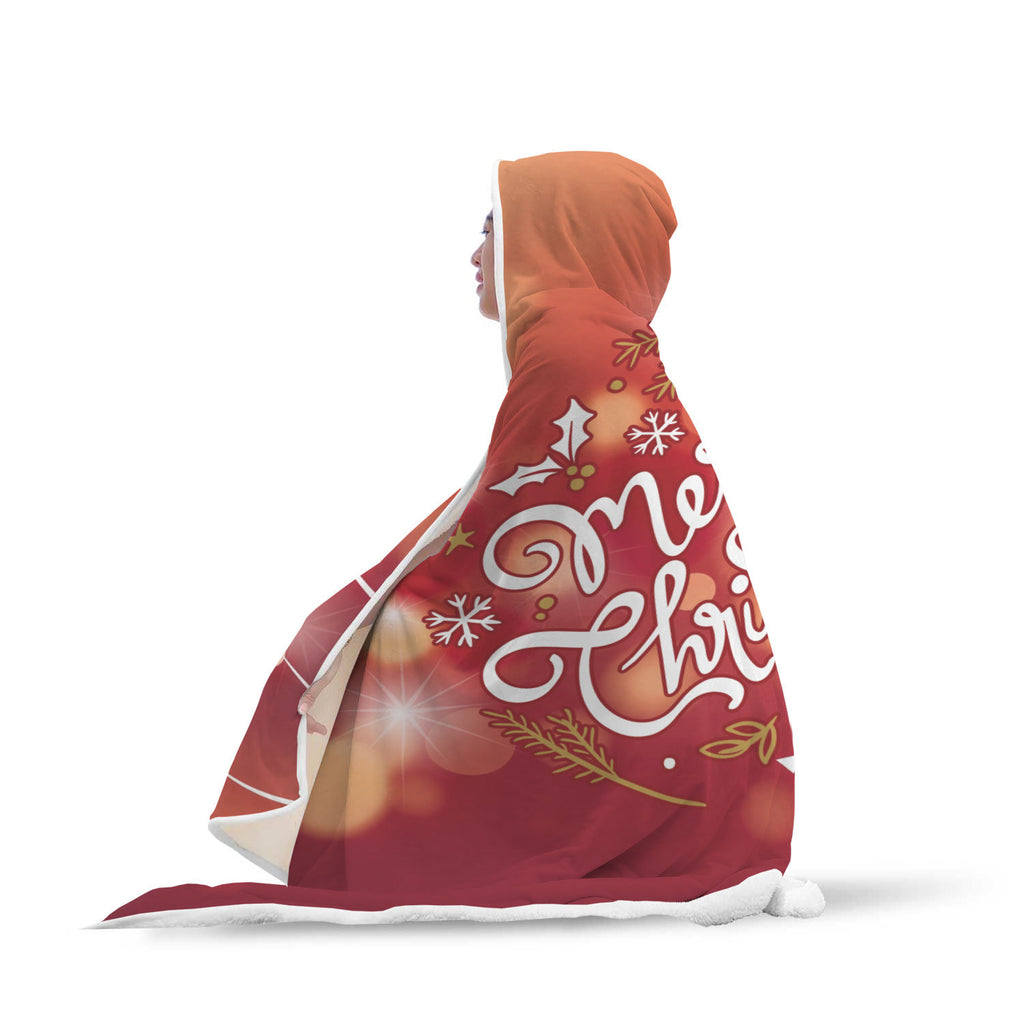 Christmas Hooded Blanket (Design# SAC20)
