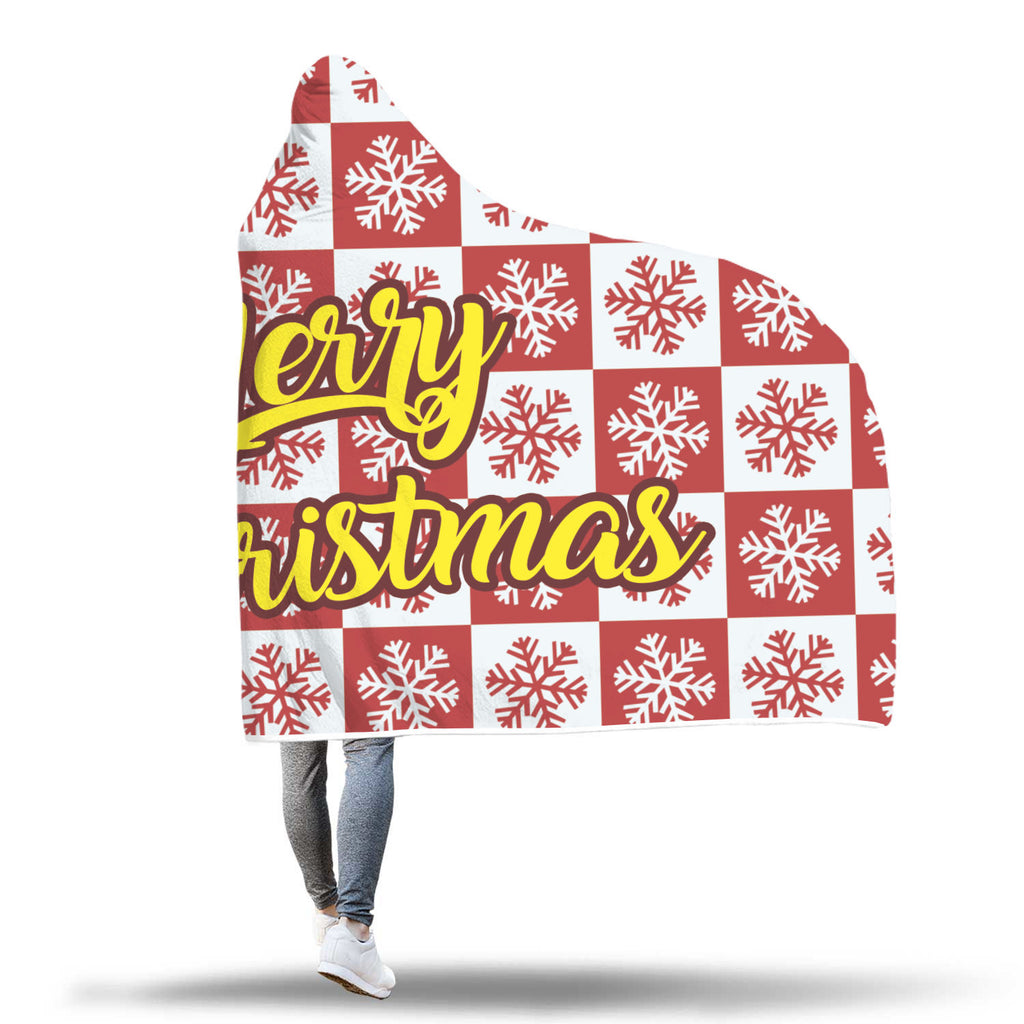 Christmas Hooded Blanket (Design# SAC23)