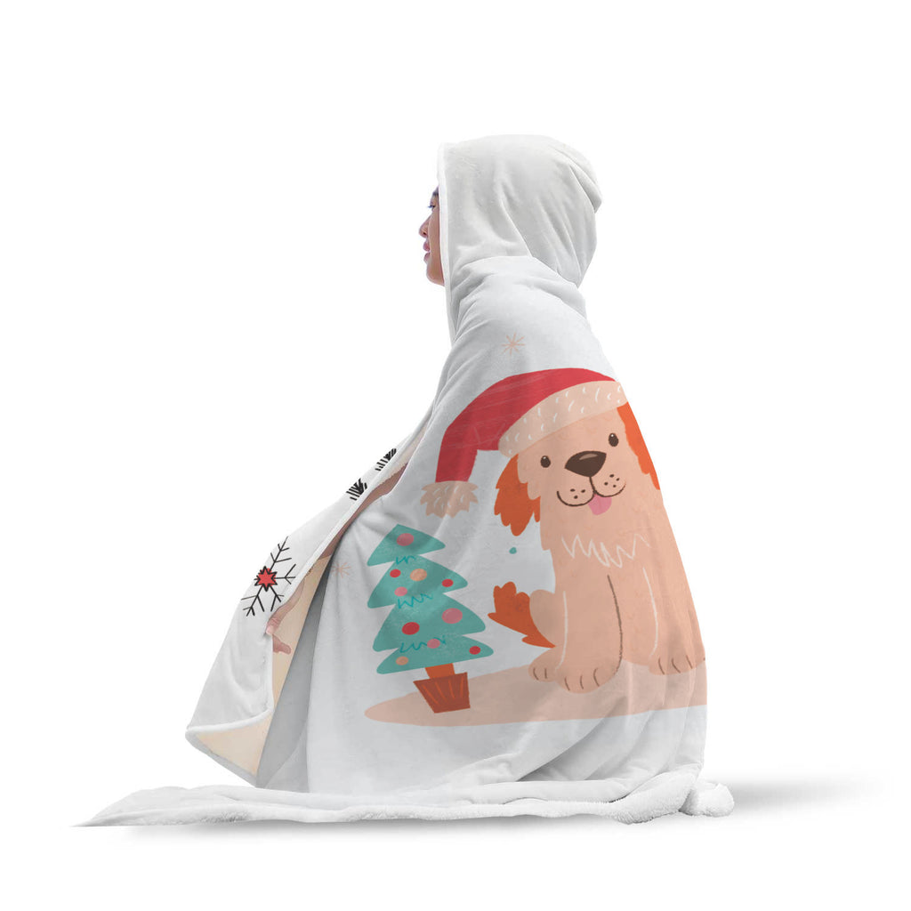 Christmas Hooded Blanket (Design# SAC35)