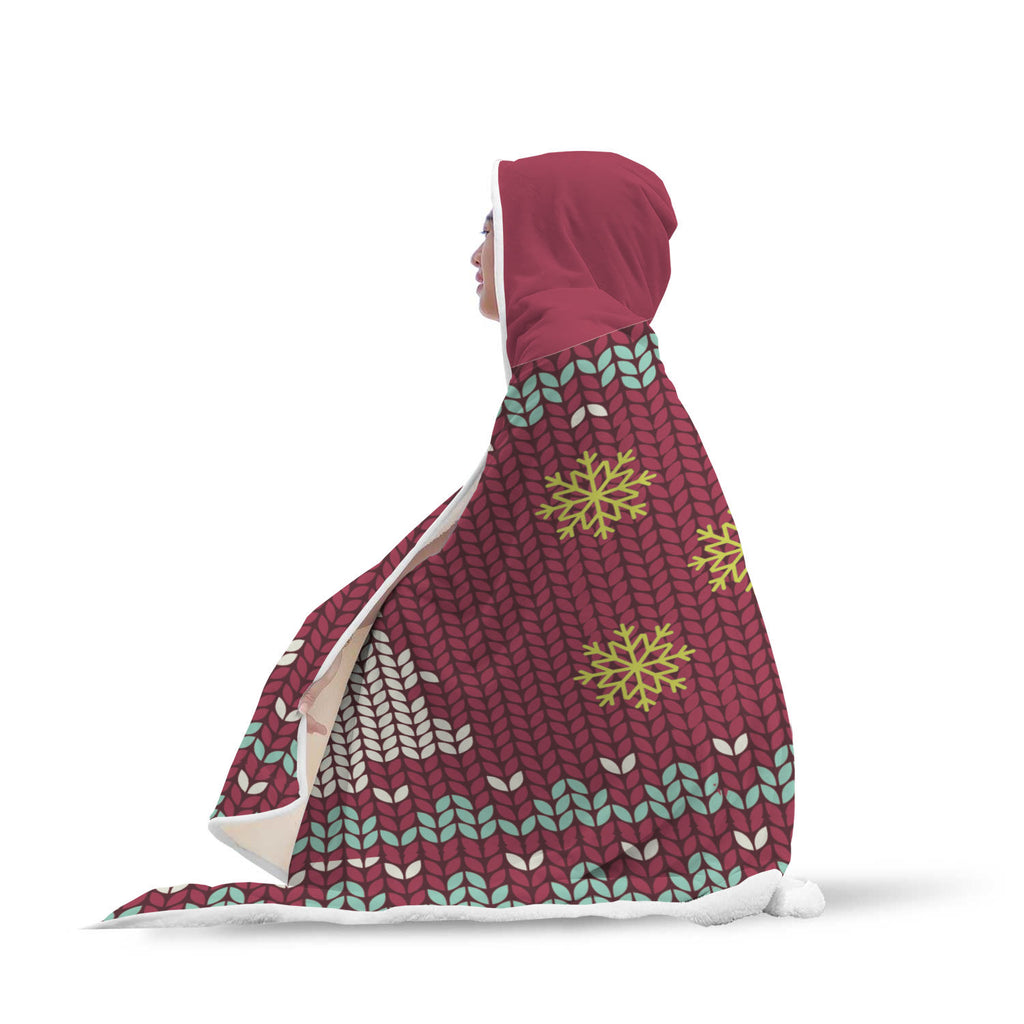 Christmas Hooded Blanket (Design# SAC40)