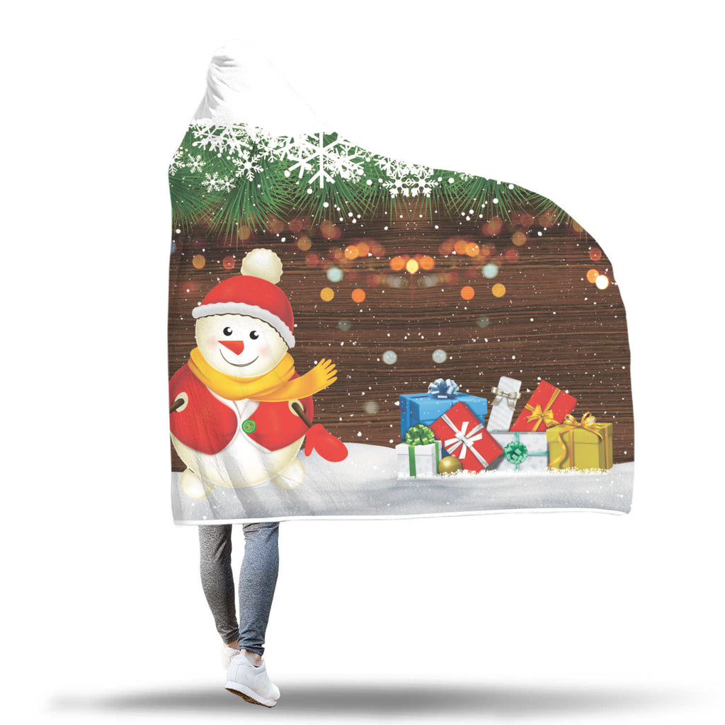 Christmas Hooded Blanket (Design# SAC50)
