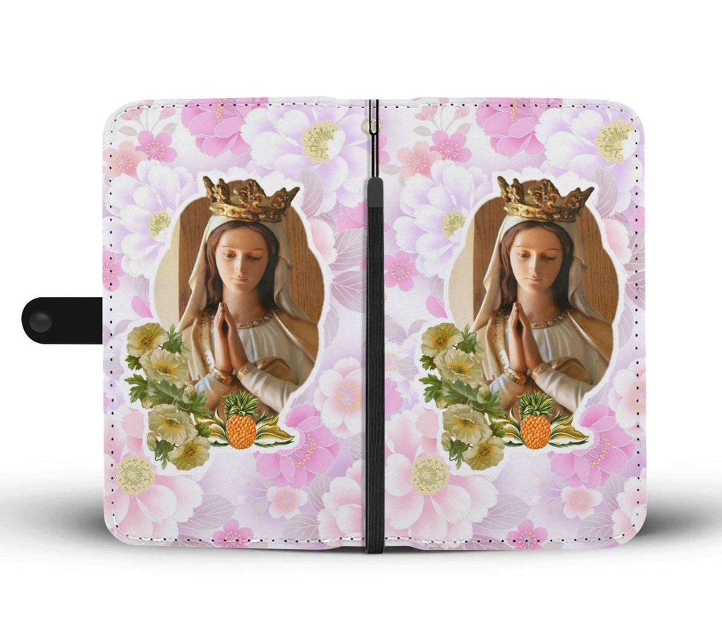"""Virgin Mary"" (D3) Wallet Phone Case"