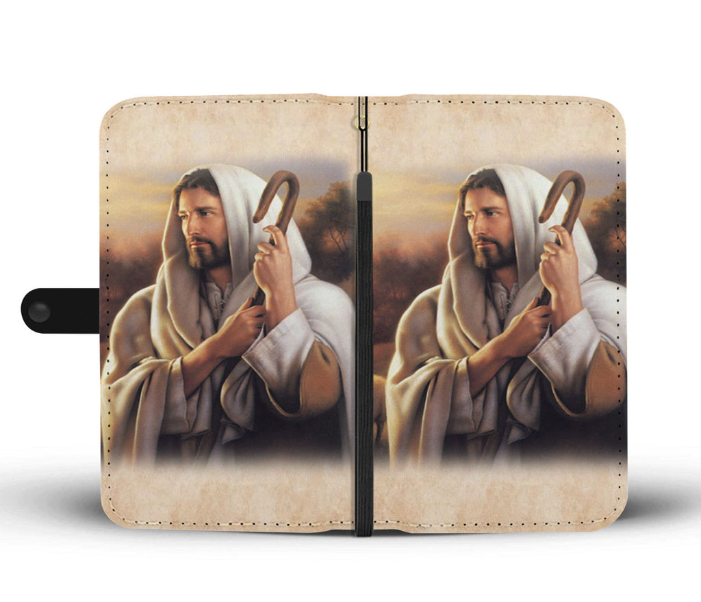 """Jesus"" Wallet Phone Case"