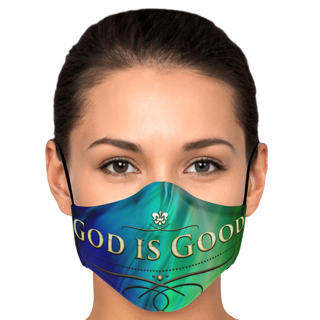 Fashion Face Mask (God Is Good) - 5 Layers