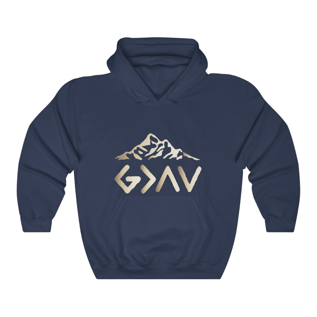 Christian Unisex Hoodie (God Is Greater Than The Highs and The Lows)
