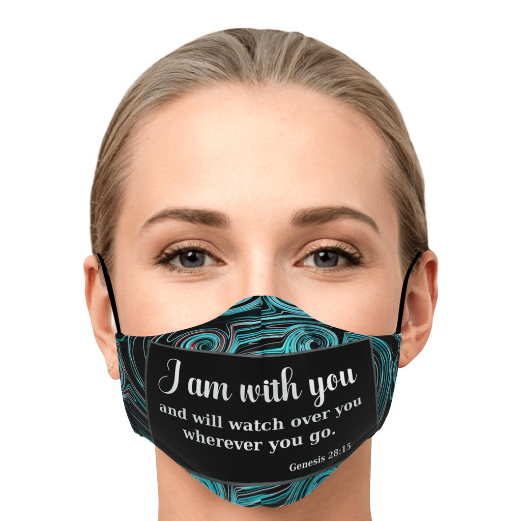 Fashion Face Mask (I Am With You) - 5 Layers