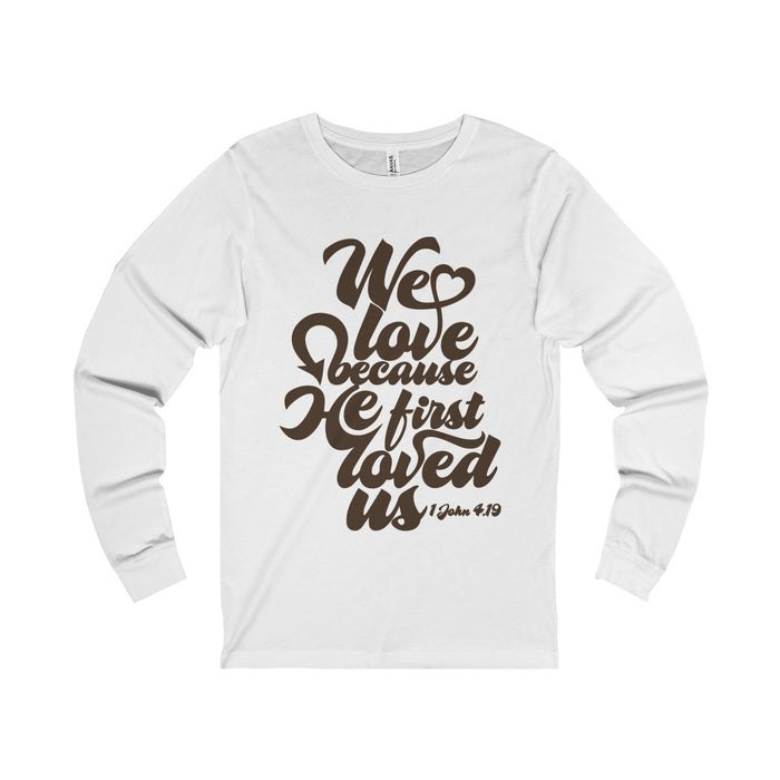 """Love"" Long Sleeve Tees"