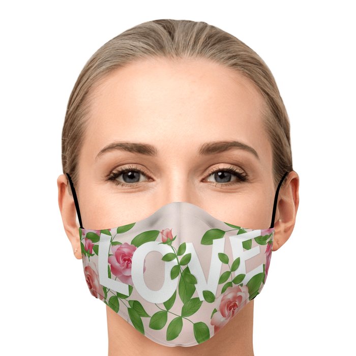 Fashion Face Mask (Love) - 5 Layers