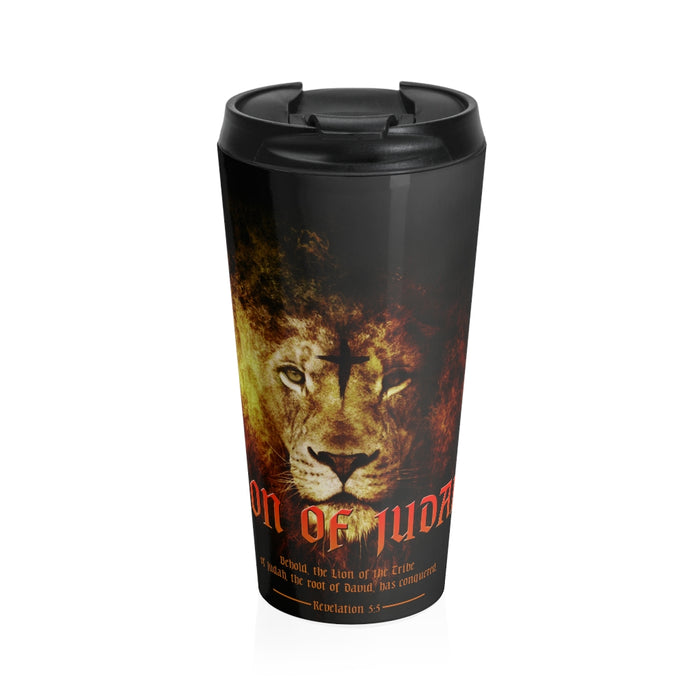 Christian Travel Mug 15 oz (Lion Of Judah)