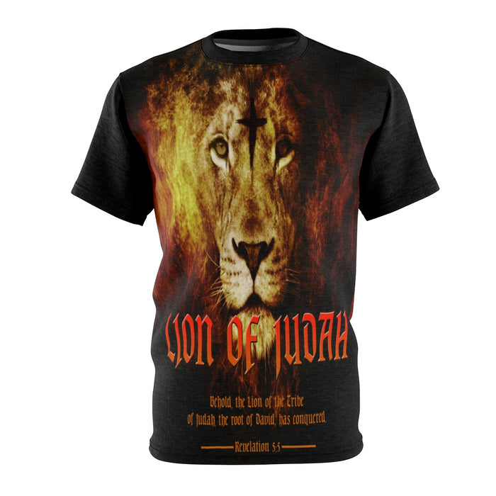 """Lion Of Judah"" All Over Print Tee (Unisex)"
