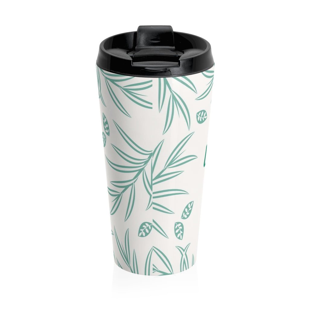 Christian Travel Mug 15 oz (God Is Good and God is Great)