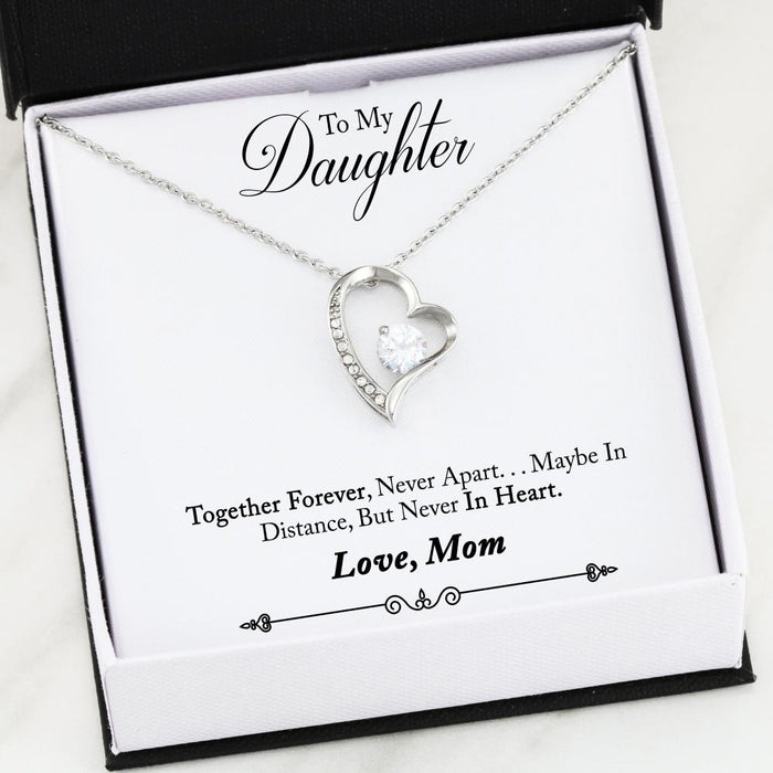 Forever Love Necklace - Mom's Gift To Daughter (Forever)