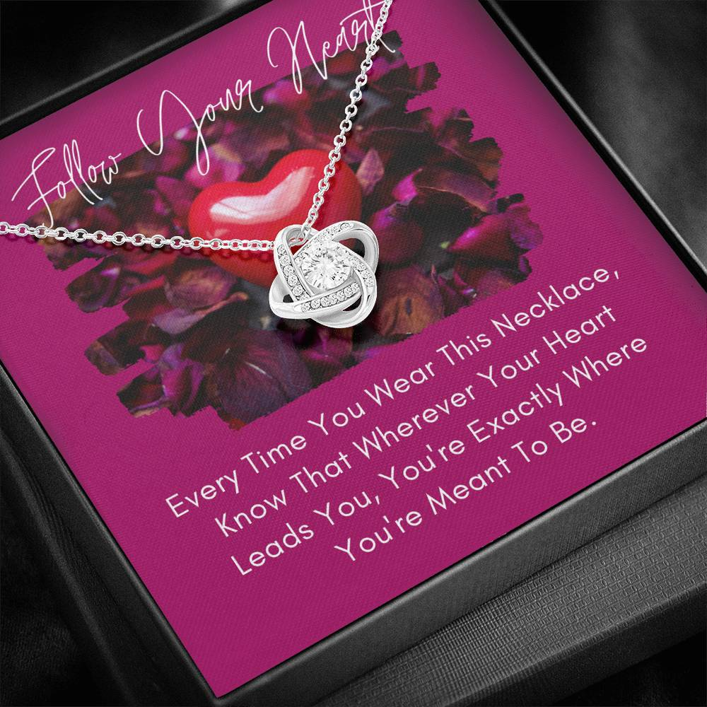 Love Knot Necklace (Follow Your Heart)