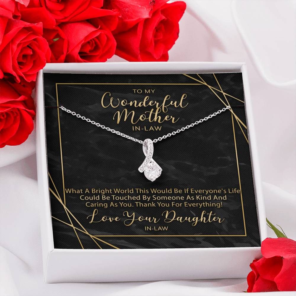 Alluring Beauty Necklace - Gift For Mother In-Law