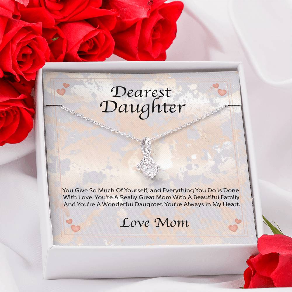 Alluring Beauty Necklace - Mother Daughter Necklace