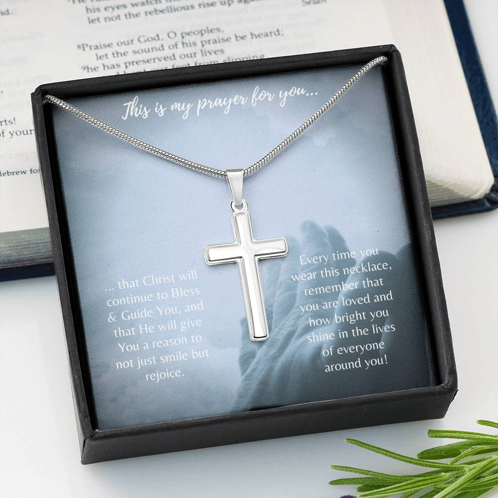 Cross Necklace (Prayer & Gift)