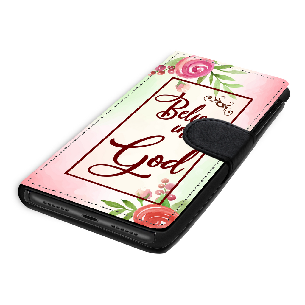 Wallet Phone Case (Samsung & Iphone) - Believe In God