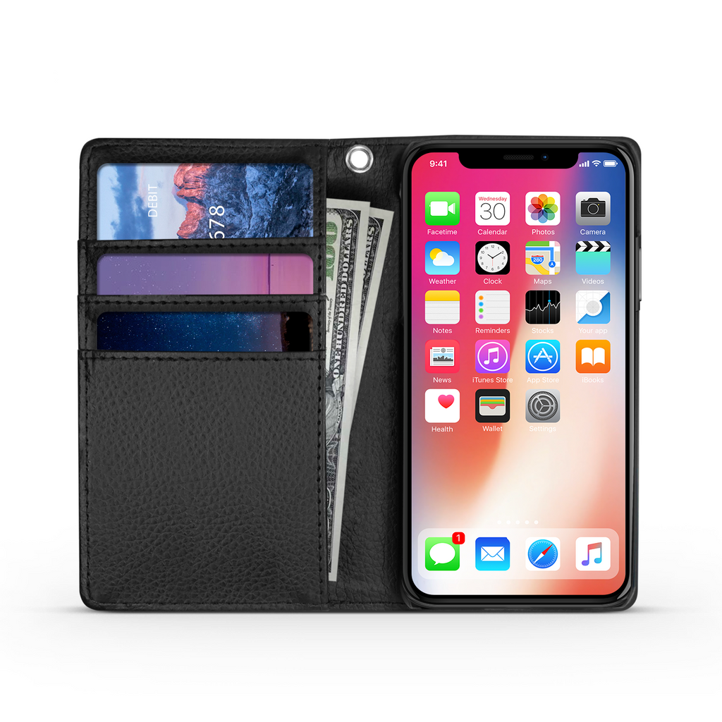 Wallet Phone Case (Samsung & Iphone) - Keep Your Eyes On Jesus